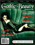 kaRIN of COLLIDE.net the only musician ever to grace the cover of a Gothic Beauty magazine