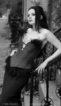 Gothic Beauty Model Darenzia
