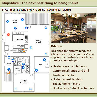 Interactive Floor Plans Launched As Alternative To Virtual