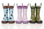 Kids rain boots.