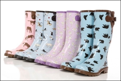 Make a Spring Splash with Hatley Raingear for Kids and Women