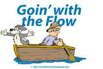 Goin' With the Flow Graphics