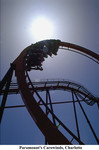 Take a ride on one of Carowinds roller coasters.
