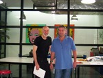 Roi Tauer and Marc DeChampeaux in China Factory