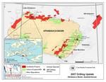 CanAlaska Uranium Athabasca Drilling Map
