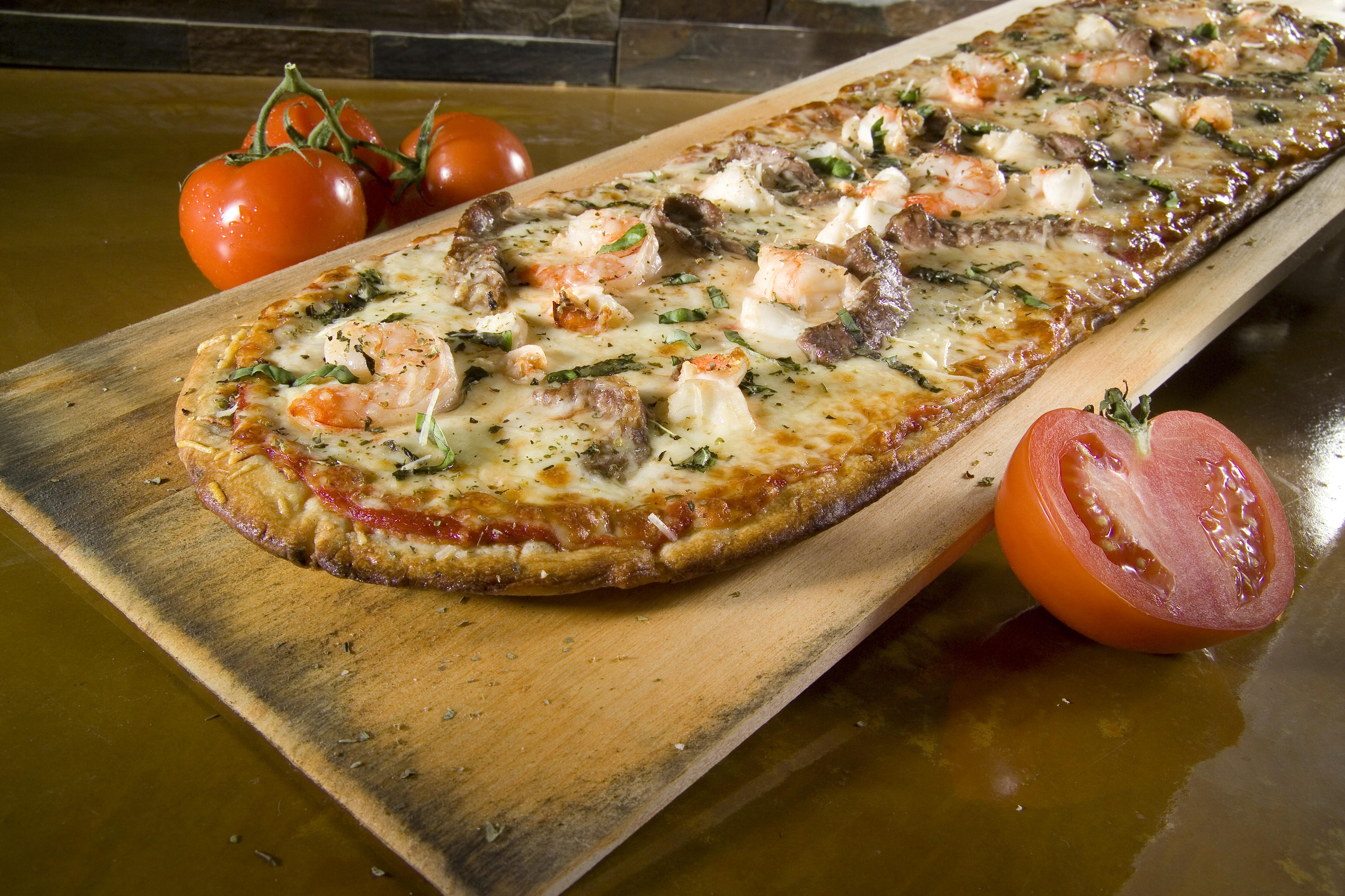 Pizza Fusion Introduces 48 Surf & Turf Pizza