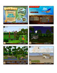 Screenshots from Snapshot Adventures; a new game from Large Animal Games.