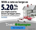 Save for your home projects with 5.20% high interest savings at Huntington
