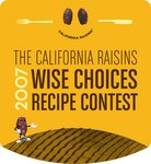 California Raisins Wise Choices Recipe Contest Logo
