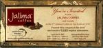 Invite to the Coffee & Tea Festival 2007