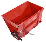 Skid steer side flow bucket attachment