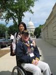 Navy veteran Jim Thew and wife Kumiko.