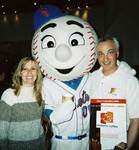 Even Mr. Met was there!