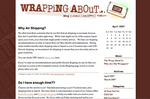 Carson Wrapped Hershey's Chocolates New Blog Site, Wrapping About...