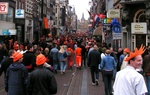 Queensday in Amsterdam
