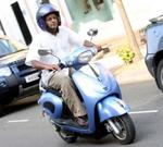 G2000R Electric Moped