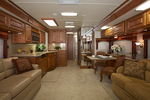 Interior of Monaco Diplomat available in the CoachShare Fractional Ownership Program