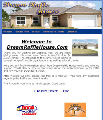 New Online Raffle for a Florida Dream Home Announced to Support