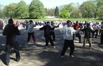 New York, Central Park - World Tai Chi & Qigong Day Event