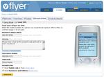vFlyer's SMS Interface
