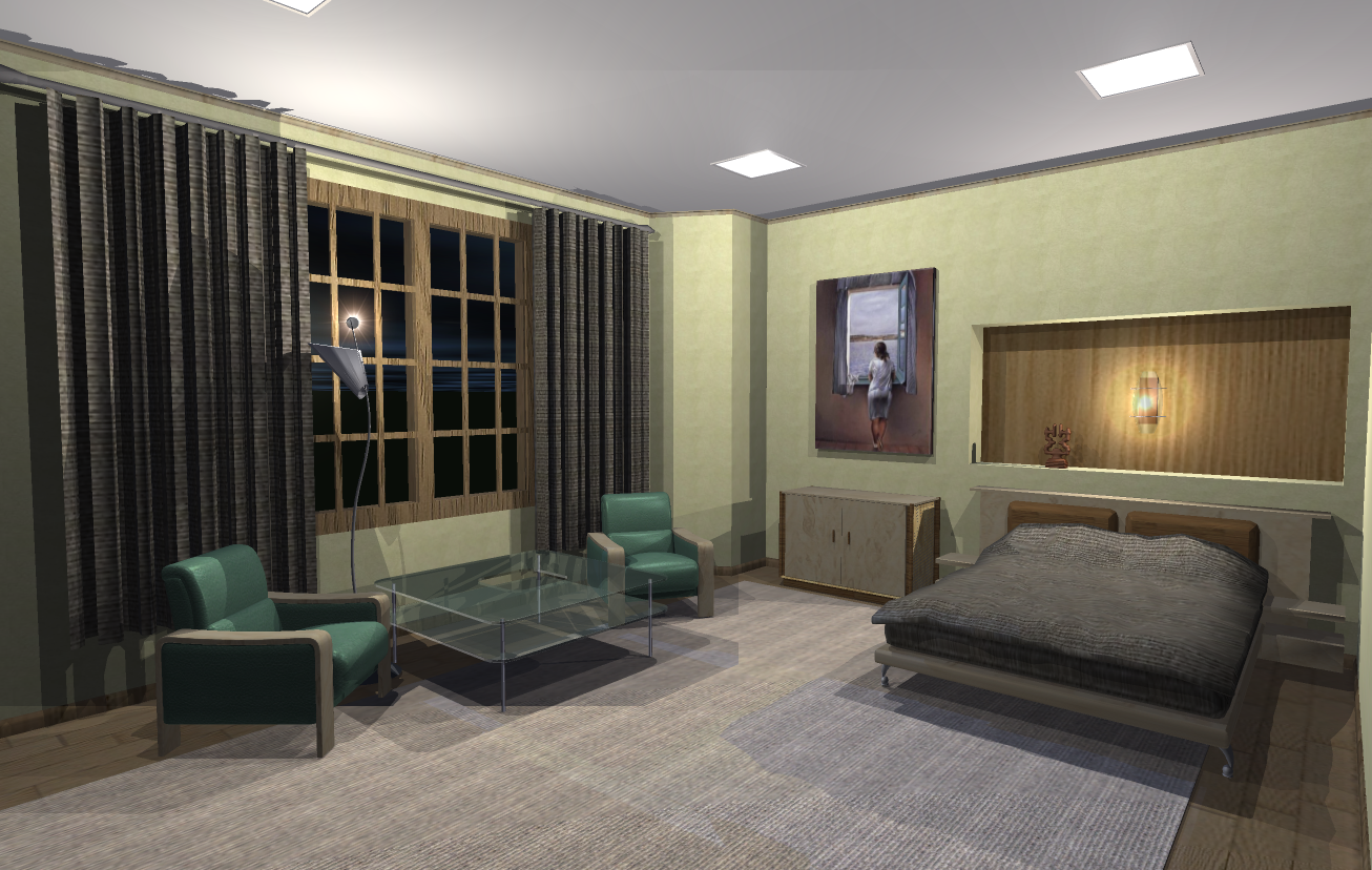 Bedroom DarkThis Is A Sample Design From Live Interior 3D