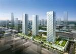 HOK is designing seven new buildings in New Songdo City, Korea.