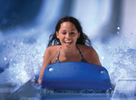 New AquaRacer mat water slide ride at Wildwater Kingdom.