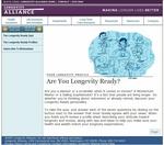 Longevity Ready Quiz Intro Page