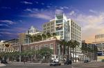 Hard Rock Hotel San Diego External Rendering