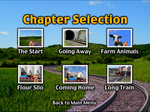 """300dpi jpg. The Busy Little Engine DVD """"Chapter Select"""" menu."""
