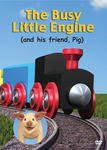 300dpi jpg. The Busy Little Engine DVD front cover.