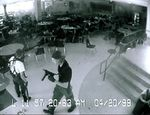 From left to right: Eric Harris and Dylan Klebold Columbine HS massacre