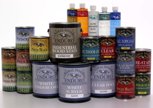 wood finishing products