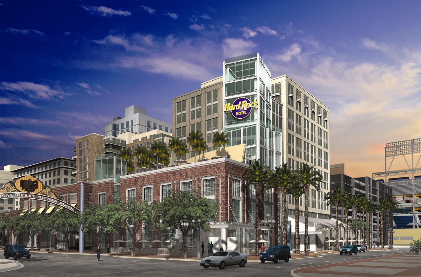 Hard Rock Hotel San Diego Takes Center Stage With