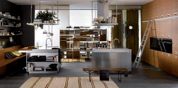 Arclinea san diego helps homeowners achieve a green - Cucine professionali da casa ...