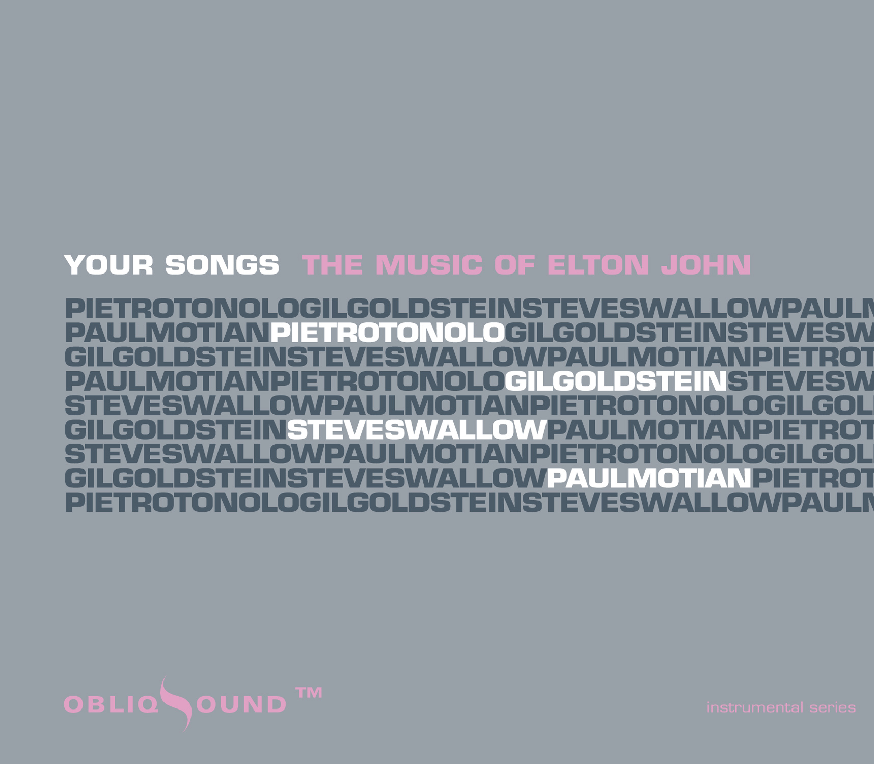 The Music Of Elton John Releases On ObliqSound