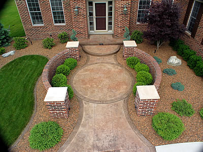 stamped concrete design ideas cohen shows some of his favorite - Concrete Design Ideas