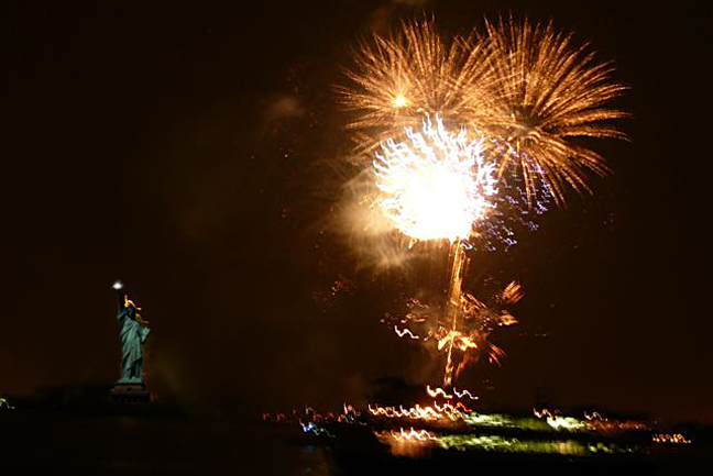 statue of liberty fireworks. Attachments. Grucci fireworks