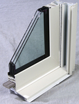 Some triple-paned, replacement windows, for instance, feature a vinyl clad frame.