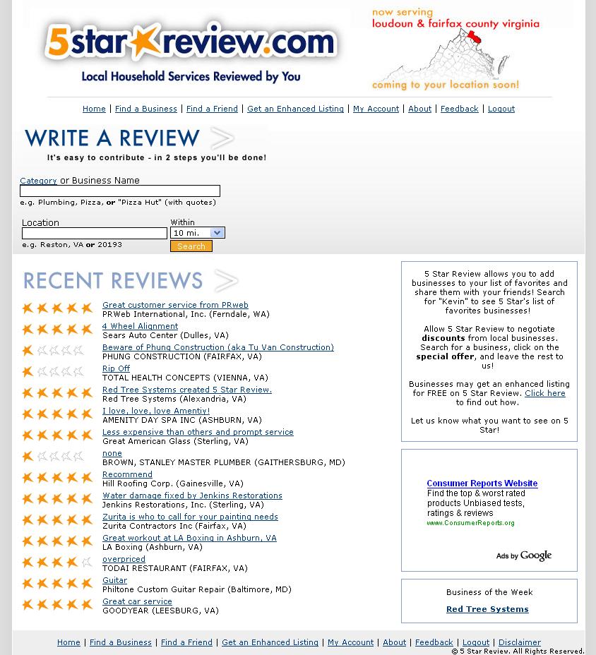 write a review design dental spa