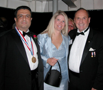 Medalist Dr. Daniel J. Thomas and Mrs. Thomas with Maurice A. Buckley