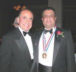 Medalist Dr. Daniel Thomas and Mr. Adib C. Kassis