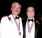 Ellis Island Medalists: JPT Gary A. Maynard, USN Commander and Dr. Daniel J. Thomas