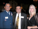 Award Nominees: RADM Stephen W. Rochon, USCG, Commander and Dr. Daniel J. Thomas, with Mrs. Thomas