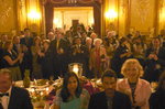 Medalists, family and friends attend the Welcome Cocktail Reception at the Metropolitan Club