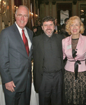 Obren Brian Gerich, V. Rev.Djokan Majstorovic and Mira Zivkovich at the Metropolitan Club, New York, NY