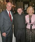 Obren Brian Gerich, V. Rev.Djokan Majstorovic and Mira Zivkovich at the Metropolitan Club, New York, NY