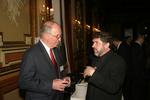 Obren Brian Gerich and V. Rev.Djokan Majstorovic at the Metropolitan Club, New York, NY