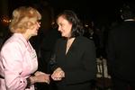 Mira Zivkovich and Miriana Majstorovic at NECO's grand reception at the Metropolitan Club, New York, NY, the night before Ellis Island Medal of Honor event