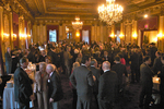 Medalists, family and friends are proud to attend the Welcome Cocktail Reception at the Metropolitan Club